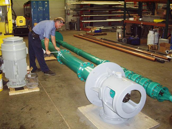 Vertical Turbine Pump (VTP) Repair - Deep Well Pump Repair